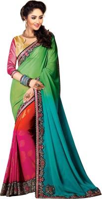ARsalesIND Embriodered, Printed Fashion Marble Padding Sari