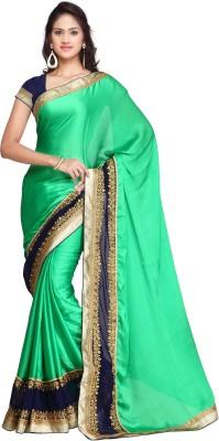 Adah Fashions Embellished Daily Wear Chiffon Sari