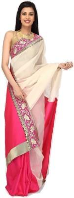 Sujatra Solid Fashion Kota, Silk Cotton Blend Sari