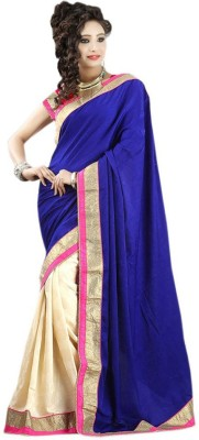 Morpankh Enterprise Embriodered Fashion Pure Georgette Sari