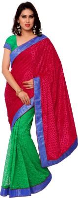 Gunjan Creation Self Design Fashion Brasso Sari