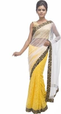 Retaaz Self Design Bollywood Brasso, Net Sari