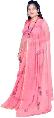 Rashmi Boutique Floral Print Fashion Chiffon Sari