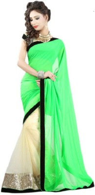 Divine Embriodered Bollywood Chiffon Sari