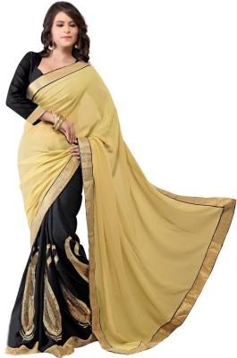 Ahuja Embriodered Bollywood Handloom Viscose Sari