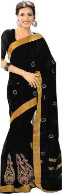 Madhevi Embriodered Fashion Cotton Sari