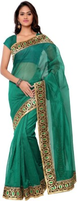 Sarvagny Clothing Solid Bollywood Art Silk Sari