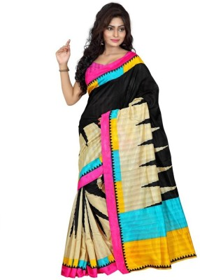 A3 Fashion Printed Bhagalpuri Art Silk Sari