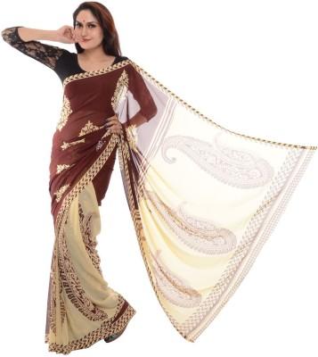 Samadhi Sarees Self Design Daily Wear Synthetic Sari