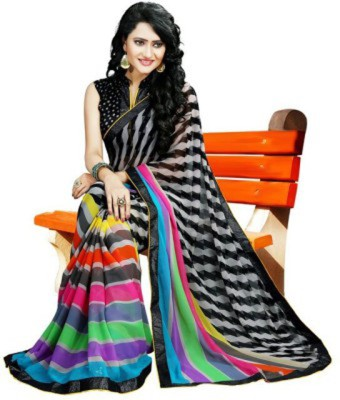 Rassam Self Design Fashion Georgette Sari
