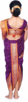 Bhartiya Paridhan Self Design Shalu Art Silk Sari