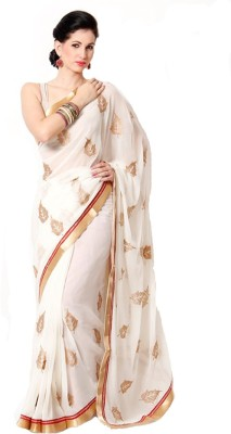 Heer Ganga Printed Fashion Chiffon Sari