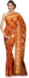 Bunkar Self Design Banarasi Cotton Saree...