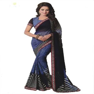 Todays Trendz Embellished Fashion Handloom Georgette Sari
