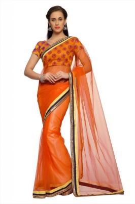 Designersareez Self Design Fashion Net Sari