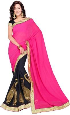 Rashmi Creation Embriodered Fashion Georgette Sari