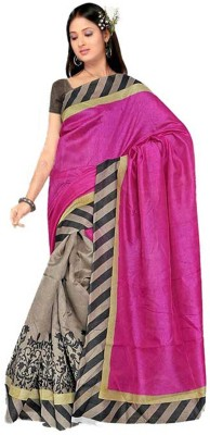 SGM Self Design Fashion Art Silk Sari