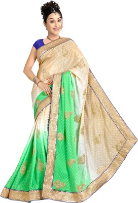 Jorjet Embriodered Fashion Jacquard Sari