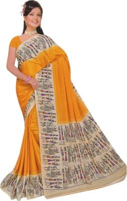 Lata Printed Daily Wear Silk Sari
