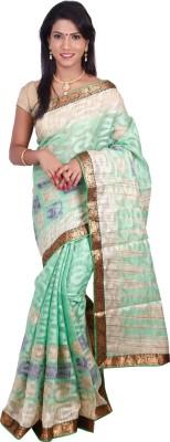 Arisidh Printed Bollywood Synthetic Sari