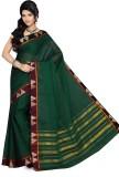 Ishin Printed Fashion Cotton Saree (Gree...