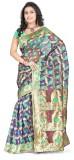 Indi Wardrobe Self Design Banarasi Handl...