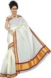 BrindavanSilks Woven Fashion Cotton Sare...