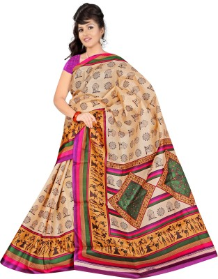 Salasar Printed Bhagalpuri Cotton Sari