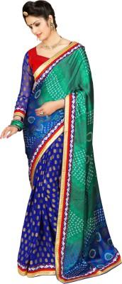 Vandvshop Printed Fashion Handloom Silk Sari