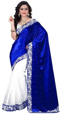 S2 Fashion Self Design Bollywood Handloom Velvet Sari