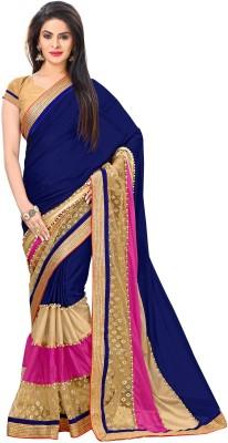 Jija Embellished Fashion Lycra Sari