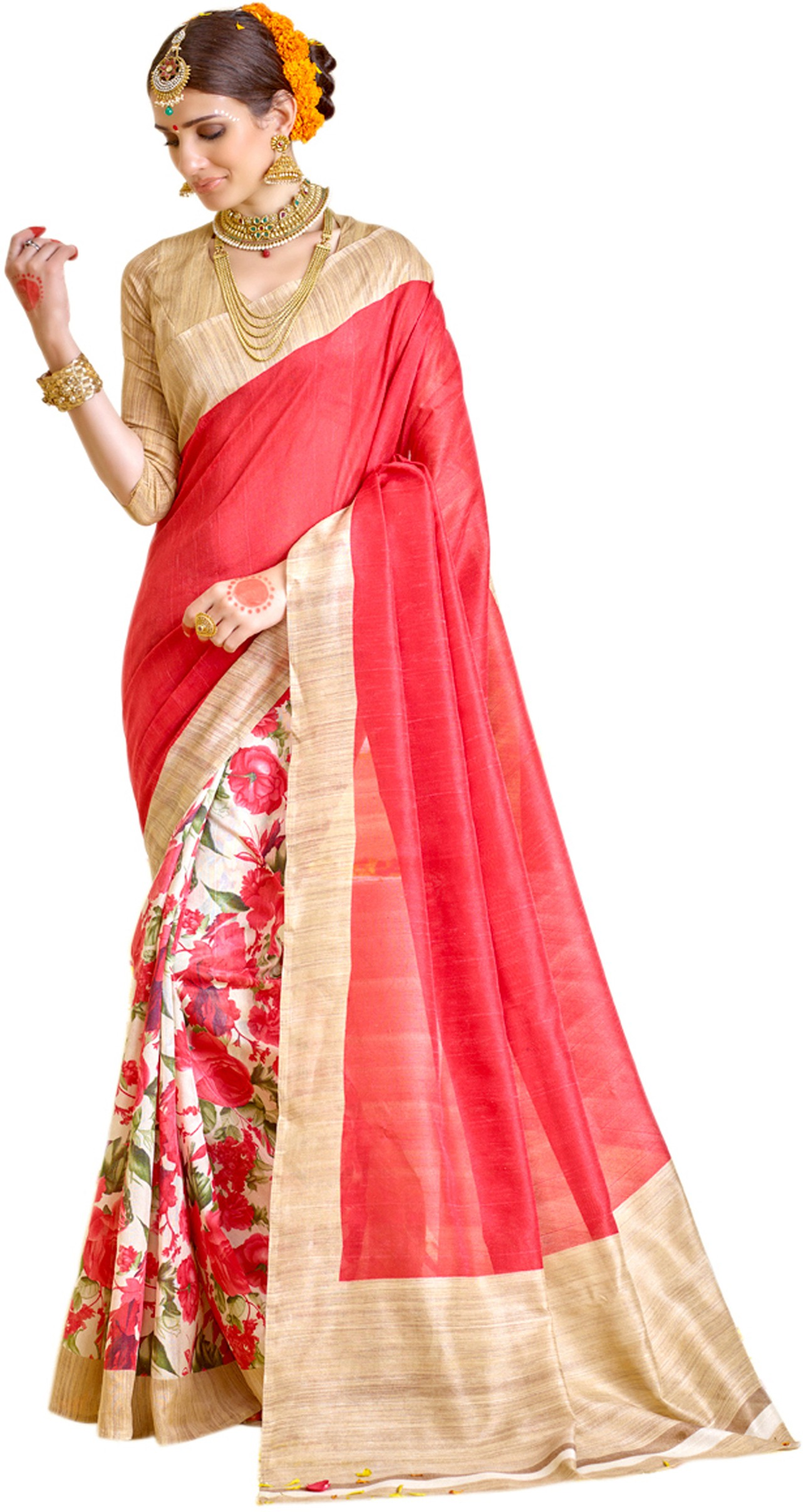 Flipkart - Sarees and Dress Materials  Minimum 70% Off