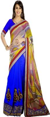Anushree Self Design Lehenga Saree Georgette Sari