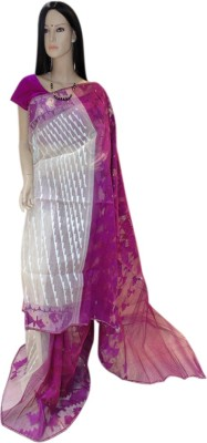 Exin Fashion Woven Fashion Pure Silk Sari