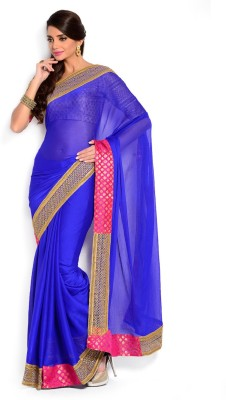 Velli Self Design Bollywood Georgette Sari