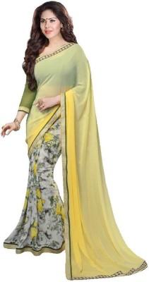 Pakiza Design Printed Daily Wear Georgette Sari