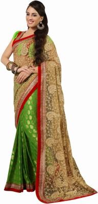 Aasvaa Embriodered Fashion Net Sari