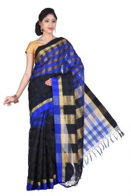 Creation Woven Shantipur Silk Cotton Blend Sari