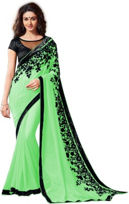 Dream Angel Embriodered Bollywood Georgette Sari
