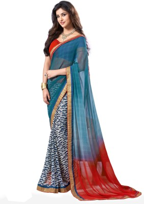 Sarika Fashion Embriodered Fashion Pure Georgette Sari