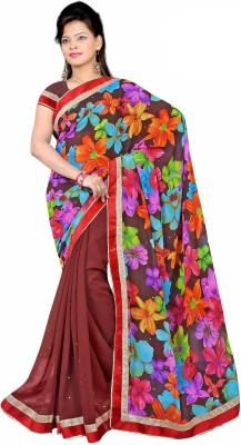Premvati Printed Fashion Handloom Chiffon Sari