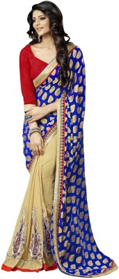 Blissta Embriodered Fashion Jacquard Sari