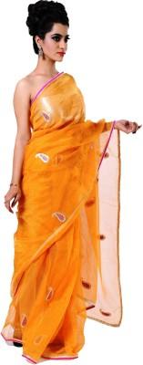 Ranas Self Design Fashion Tissue Sari