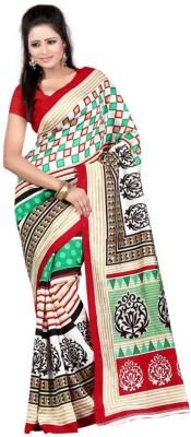 Vishnupriya Fabs Printed Fashion Art Silk Sari