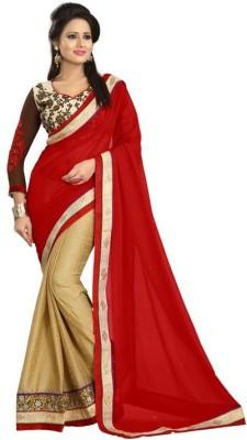Fabviva Embriodered Mysore Viscose Sari