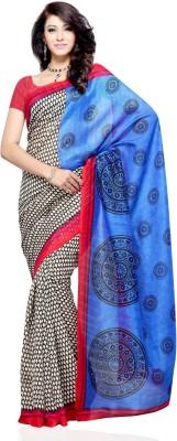 Dealtz Fashion Printed Fashion Art Silk Sari