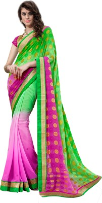 7 Colors Lifestyle Embriodered Fashion Handloom Jacquard Sari