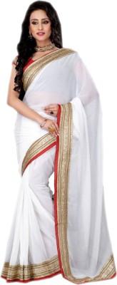 kushi Self Design Fashion Synthetic Fabric Sari