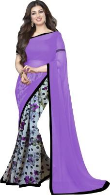 Wama Fashion Printed Daily Wear Chiffon Sari