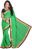 Shayona Creation Solid That Georgette Sa...